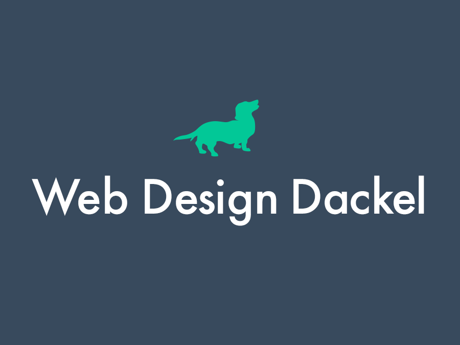 WebDesign Dackel