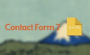 Contact Form 7のJS/CSSのファイルを必要な場合のみ読み込む
